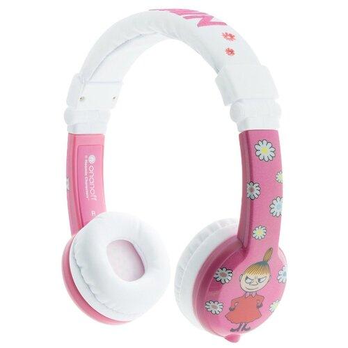 Наушники Onanoff BuddyPhones Moomin pink