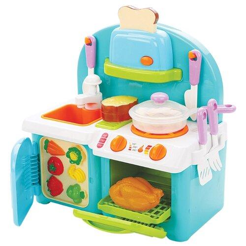 Фото - Кухня Mary Poppins Учимся готовить 453135 голубой/белый/зеленый/розовый сумка бочонок mary poppins зайка 530035 пластик розовый голубой