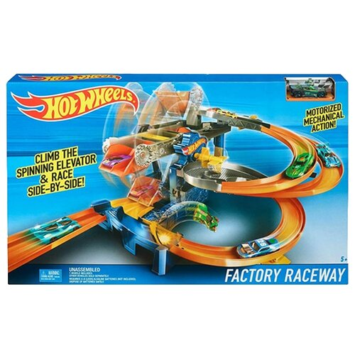 Трек Hot Wheels Factory Raceway FDF28