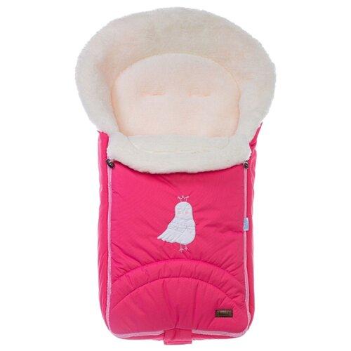 Конверт-мешок Nuovita Tundra Bianco меховой 90 см розовый конверт мешок nuovita tundra bianco меховой 90 см белый