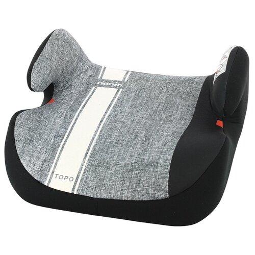 Бустер группа 2/3 (15-36 кг) Nania Topo Comfort Linea, white