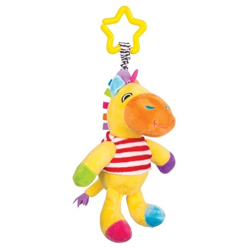 Купить Подвесная игрушка Happy Snail Жираф Спот (14HS012PGR) желтый/оранжевый, Подвески