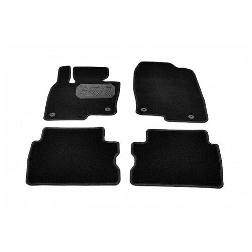 Комплект ковриков NorPlast NPA10-VTe550-683 для Mazda CX-5 4 шт. чёрный