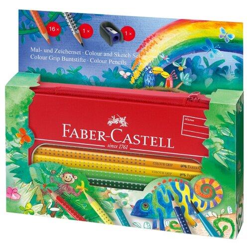 Купить Faber-Castell Цветные карандаши Grip Jungle, Наборы для рисования