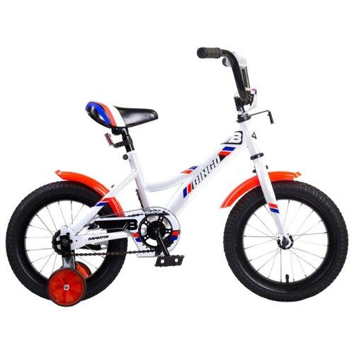 Детский велосипед Navigator Bingo (ВМ14181) белый (требует финальной сборки) велосипед детский navigator вн20214 basic