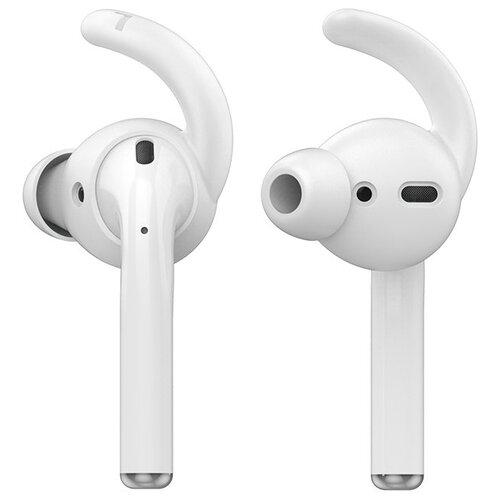 Амбушюры силиконовые Deppa Hooks для AirPods, ушной крюк, 2 пары, белый