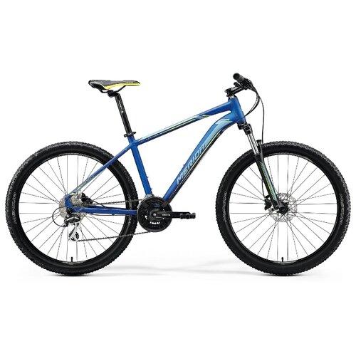 Горный (MTB) велосипед Merida Big.Seven 20-D (2020) silk medium blue/silver/yellow 17