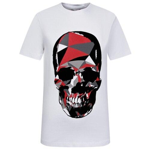 Футболка Antony Morato размер 140, белый футболка antony morato размер 128 белый