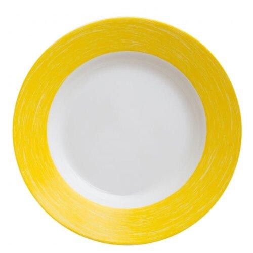 Luminarc Тарелка суповая Color Days 22 см белый/желтый тарелка суповая luminarc every day 22 см