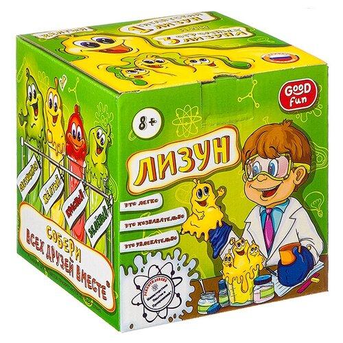 Набор Good Fun Лизун желтый набор для опытов good fun искусственный снег большой набор gf008