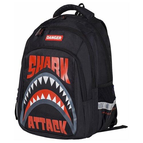 Купить Berlingo рюкзак Comfort Shark, красный/черный, Рюкзаки, ранцы