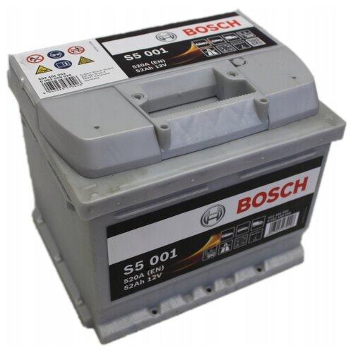 Автомобильный аккумулятор Bosch S5 001 (0 092 S50 010)