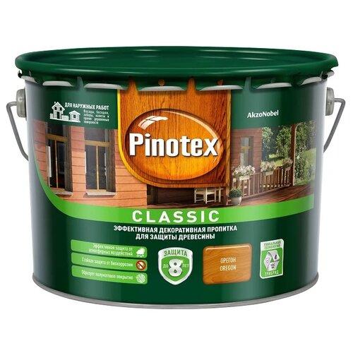 Фото - Водозащитная пропитка Pinotex Classic орегон 9 л водозащитная пропитка pinotex classic светлый дуб 1 л