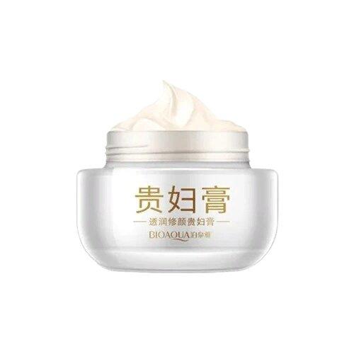 BioAqua Восстанавливающий осветляющий крем для лица с жемчужной пудрой, 50 г лучший осветляющий крем для лица