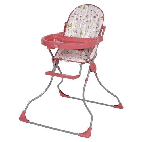 Фото - Стульчик для кормления Polini 152 лесные друзья розовый стульчик для кормления polini 152 розовый