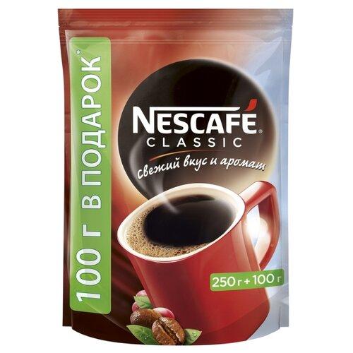 Кофе растворимый Nescafe Classic гранулированный, пакет, 350 г