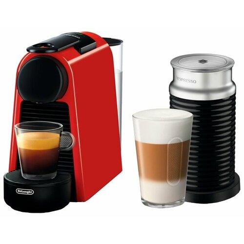 Кофемашина De'Longhi Nespresso Essenza Mini EN 85 AE красный кофемашина капсульная de'longhi nespresso essenza mini en 85 bae
