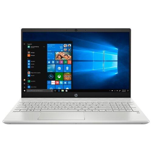 Купить Ноутбук HP PAVILION 15-cw1009ur (AMD Ryzen 7 3700U 2300MHz/15.6 /1920x1080/8GB/256GB SSD/1000GB HDD/DVD нет/AMD Radeon RX Vega 10/Wi-Fi/Bluetooth/Windows 10 Home) 6SQ29EA белая керамика/серебристый