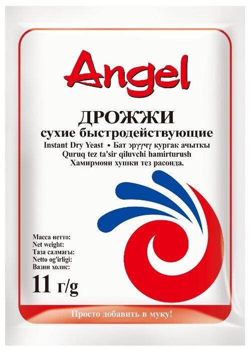 Дрожжи Angel хлебопекарные сухие быстродействующие