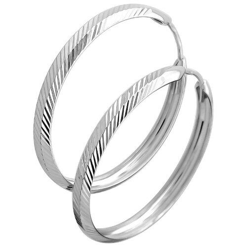 Эстет Серьги из серебра С36С75233001