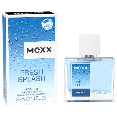 Туалетная вода MEXX Fresh Splash for him, 30 мл mexx life is now for him туалетная вода 50мл