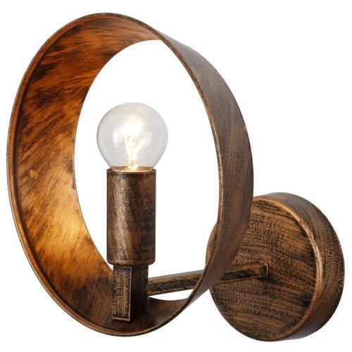 Настенный светильник ESCADA 403/1A Black Brush Gold, 40 Вт светильник escada 5080 4pa e14x40вт коричневый
