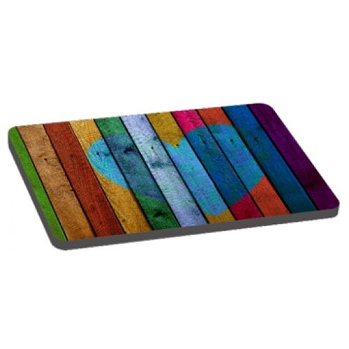 Лежак для собак PerseiLine Радужный 2 70х45х5 см разноцветный