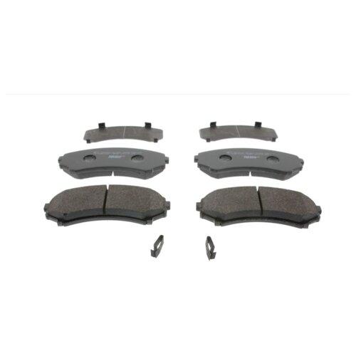 Фото - Дисковые тормозные колодки передние Ferodo FDB1603 для Mitsubishi Pajero, Mitsubishi Grandis (4 шт.) дисковые тормозные колодки передние ferodo fdb1698 для mitsubishi toyota lexus 4 шт