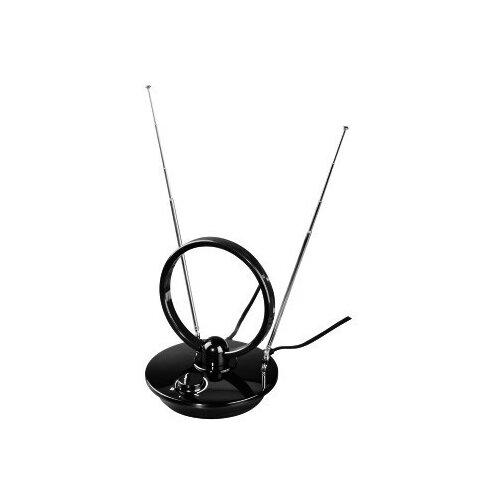 Комнатная DVB-T2 антенна HAMA H-121650 антенна комнатная gal da 600 silver