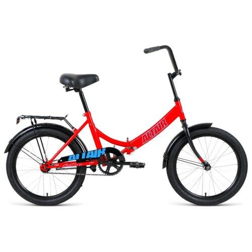 Городской велосипед ALTAIR City 20 (2020) красный 14 (требует финальной сборки) велосипед двухколесный altair city 20 колесо 20 рама 14 белый