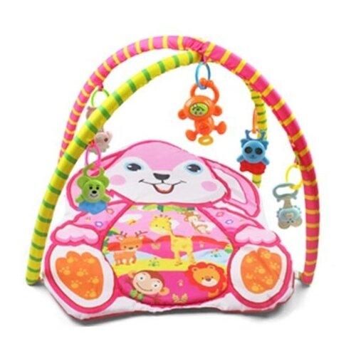 Купить Развивающий коврик Наша игрушка Зайка (604-1B), Развивающие коврики
