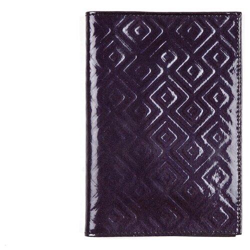 Обложка для паспорта РФ из кожи MM-818, OP-0-1 Violet-Bordo BIATRISS