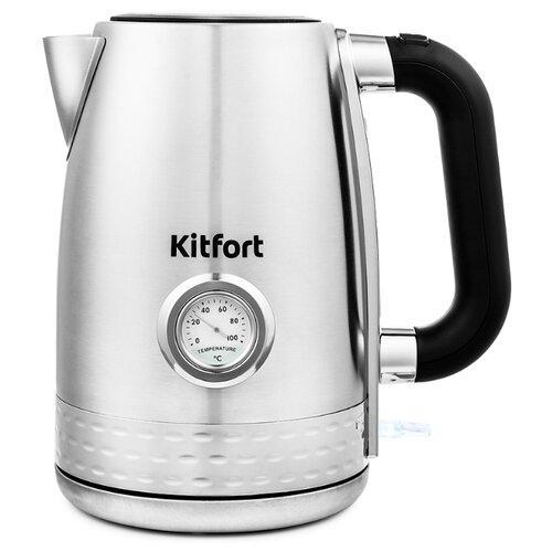 Чайник Kitfort КТ-684, серебристый