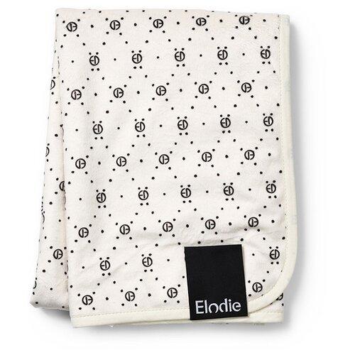 Купить Плед Elodie Monogram print 75х100 см белый, Покрывала, подушки, одеяла