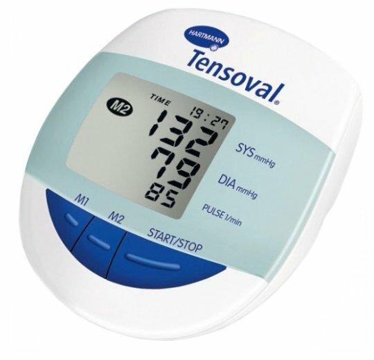 Тонометр автоматический на плечо Tensoval Comfort Hartmann с большим экраном, манжета 22-32см, 900174