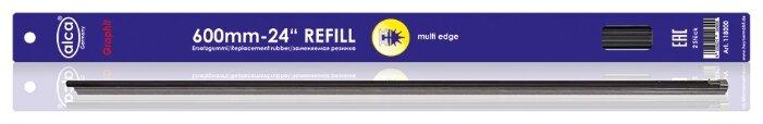 """Лента стеклоочистителя ALCA Refill Multi Edge 24"""" 600 мм, 2 шт."""