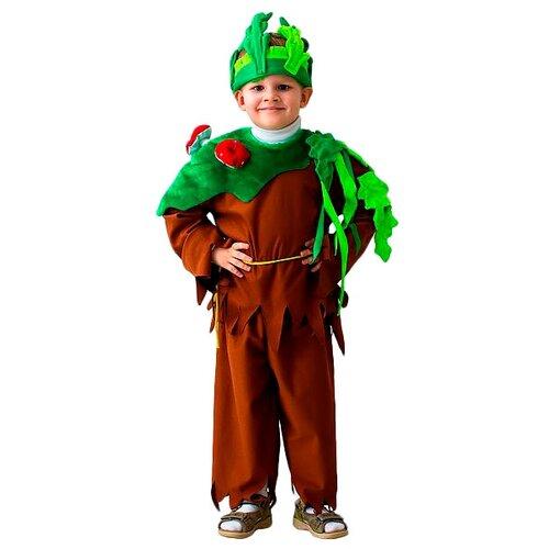 Купить Костюм Бока Леший, коричневый/зеленый, размер 122-134, Карнавальные костюмы