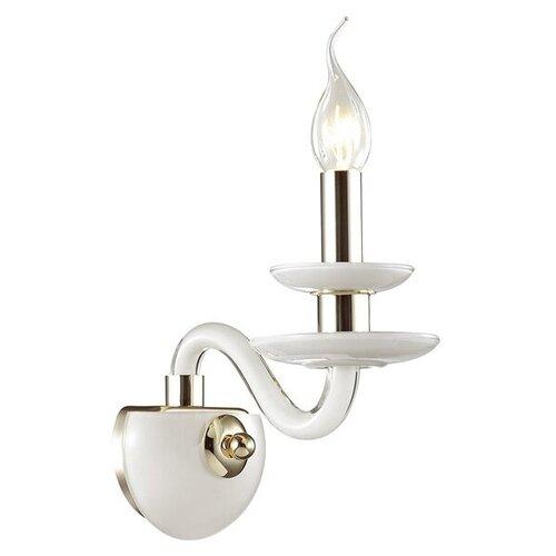 Настенный светильник Odeon light Capri 4187/1W, 40 Вт настенный светильник odeon light capri 4188 1w 40 вт