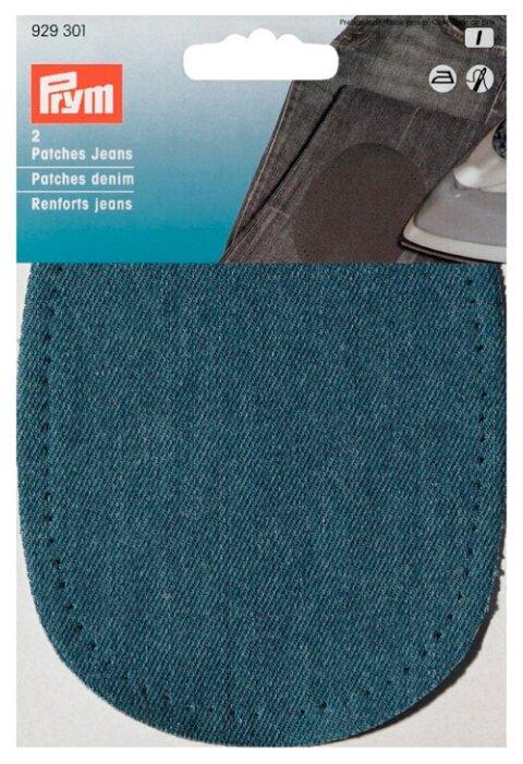 Заплатки термоклеевые джинсовые,цв.темно-голубой PRYM 929301