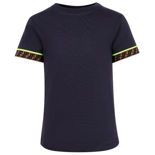 Футболка FENDI размер 140, синий футболка fendi размер 140 синий