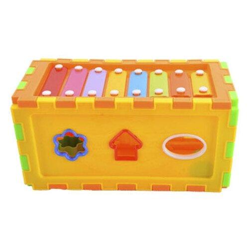 Купить Развивающая игрушка TONG DE 4в1 (T272-D4530) желтый/зеленый/оранжевый, Развивающие игрушки