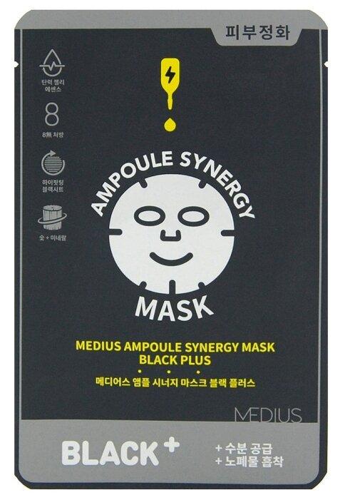 MEDIUS Тканевая маска Древесный уголь +