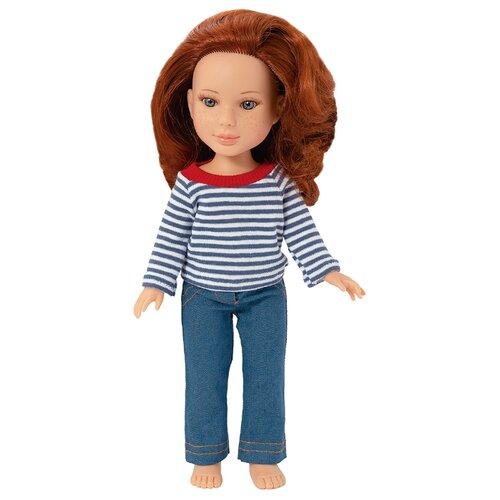 Фото - Кукла ОГОНЁК Арина с веснушками, 32 см, С-1509 кукла огонёк арина с веснушками