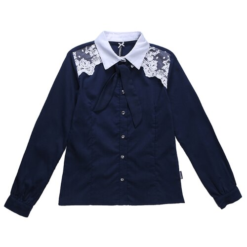Блузка Luminoso размер 134, темно-синий