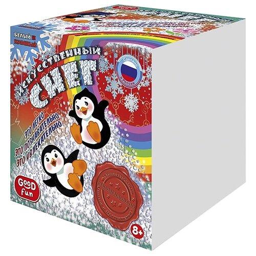 Купить Набор Good Fun Искусственный снег (GF006) белый и красный, Наборы для исследований