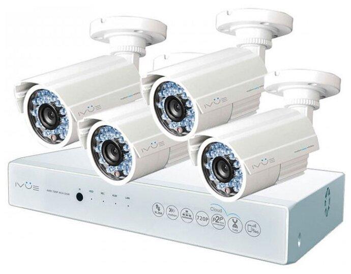 Комплект видеонаблюдения IVUE D5004 AHC B4