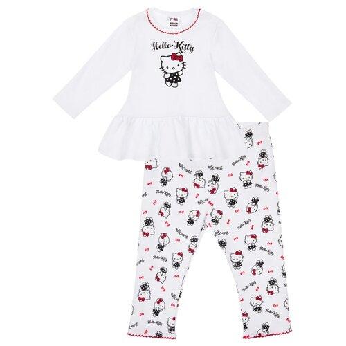 Купить Комплект одежды playToday размер 68, белый/серый, Комплекты