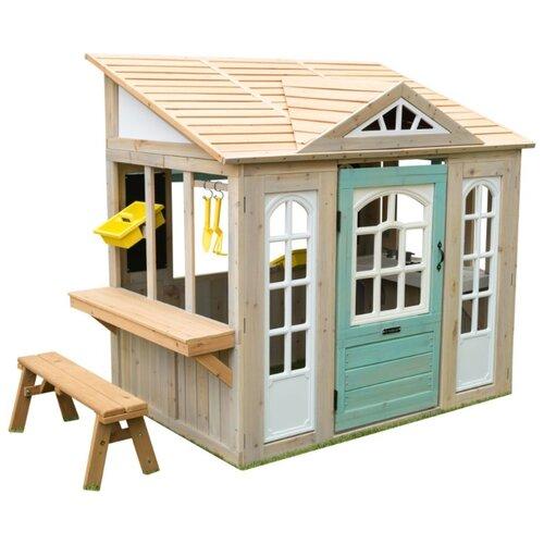 Купить Домик KidKraft Загородный дом 00200_KE белый/бежевый/голубой, Игровые домики и палатки