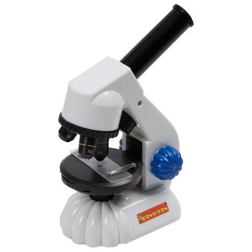 Микроскоп BONDIBON Французские опыты Науки с Буки 3Д (ВВ3378) серый французские опыты науки с буки bondibon микроскоп