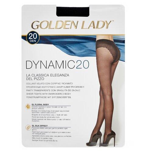 Колготки Golden Lady Dynamic 20 den, размер 4-L, nero (черный) колготки golden lady bodyform 20 den размер 4 l nero черный